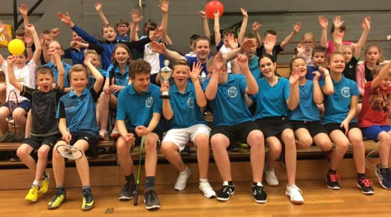 Badmintonplezier bij Luijten Verwarming-toernooi